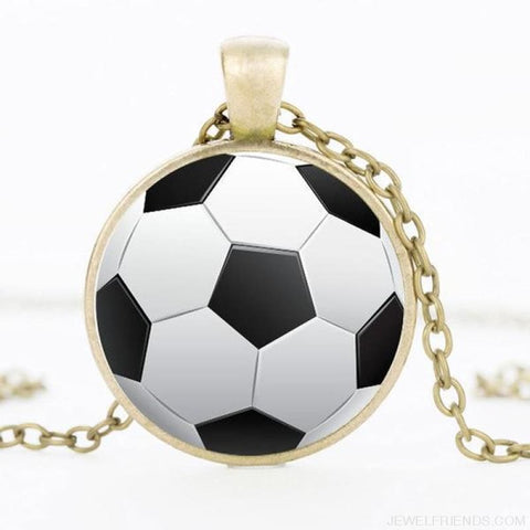 Sport Balls Photo Pendant Necklaces - 5 / 50Cm - Custom Made | Free Shipping