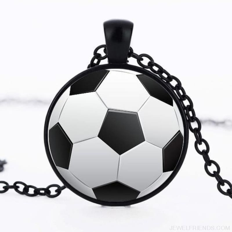 Sport Balls Photo Pendant Necklaces - 6 / 50Cm - Custom Made | Free Shipping