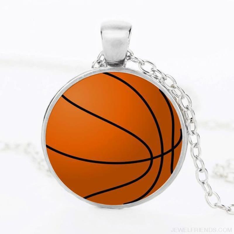 Sport Balls Photo Pendant Necklaces - 7 / 50Cm - Custom Made | Free Shipping