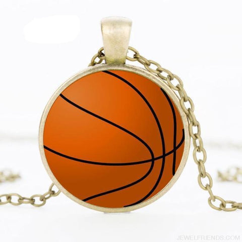 Sport Balls Photo Pendant Necklaces - 8 / 50Cm - Custom Made | Free Shipping