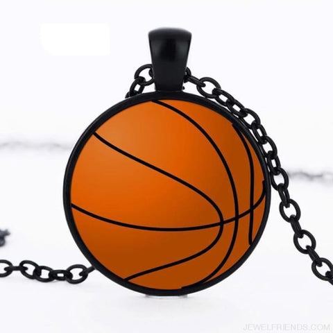 Sport Balls Photo Pendant Necklaces - 9 / 50Cm - Custom Made | Free Shipping