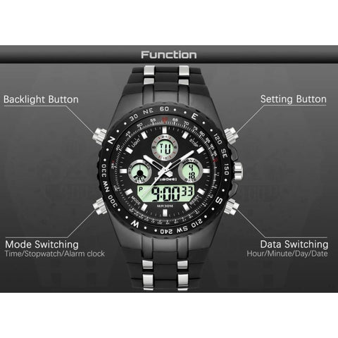 Image of Sport Quart Military Waterproof Led Digital Watches - Custom Made | Free Shipping