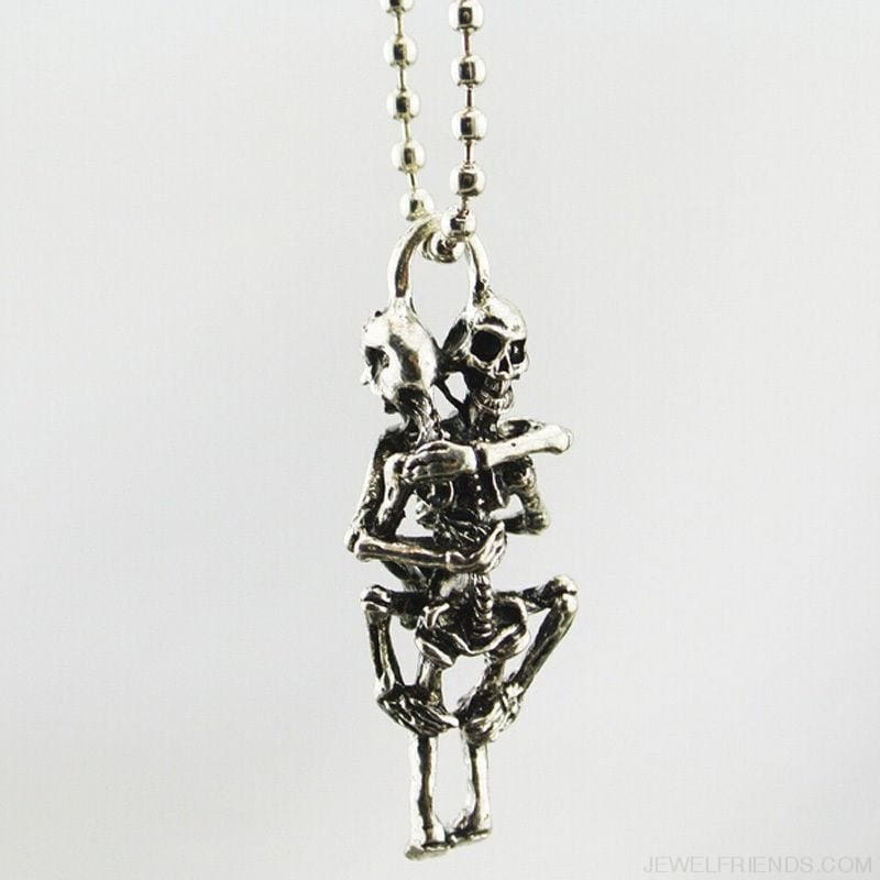 Stainless Steel Skull Pendant Chain Necklace - Custom Made | Free Shipping