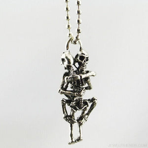Stainless Steel Skull Pendant Chain Necklace