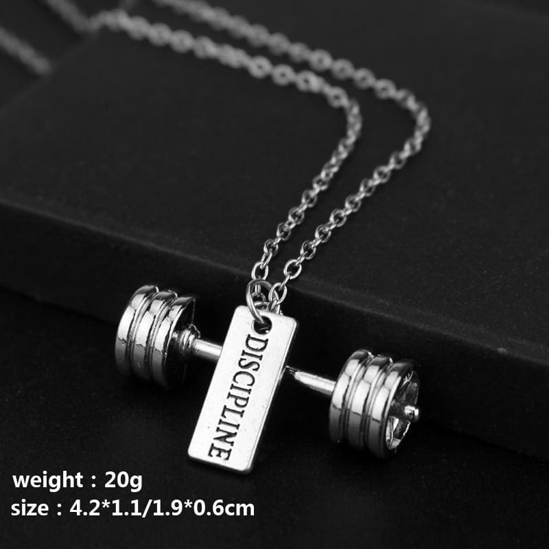 Strong Fitness Weights Pendant Necklaces - Custom Made | Free Shipping