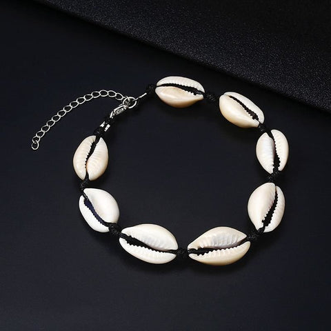 Image of Summer Beach Shell Anklet - Custom Made | Free Shipping
