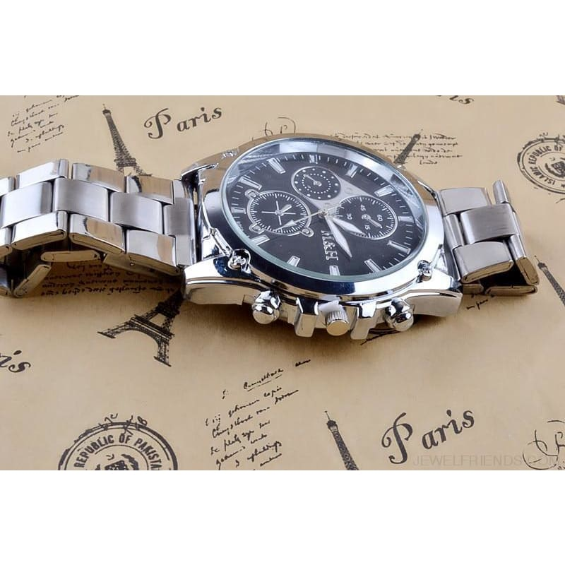 Super Deals Silver Watch - Custom Made | Free Shipping