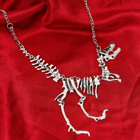Tyrannosaurus Rex Skeleton Necklace - Custom Made | Free Shipping