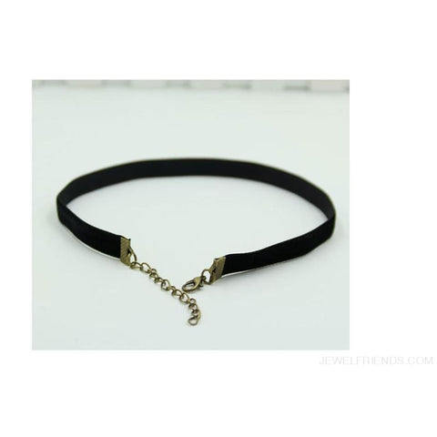Image of Vintage Black Velvet Choker - Custom Made | Free Shipping