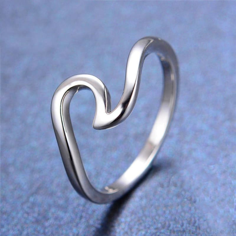 Wave Ring - Custom Made | Free Shipping