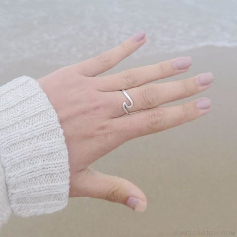 Image of Wave Ring - Custom Made | Free Shipping