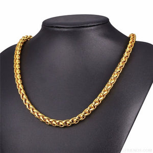 Wheat Chain Stainless Steel 3mm/6mm/9mm Twisted Necklace