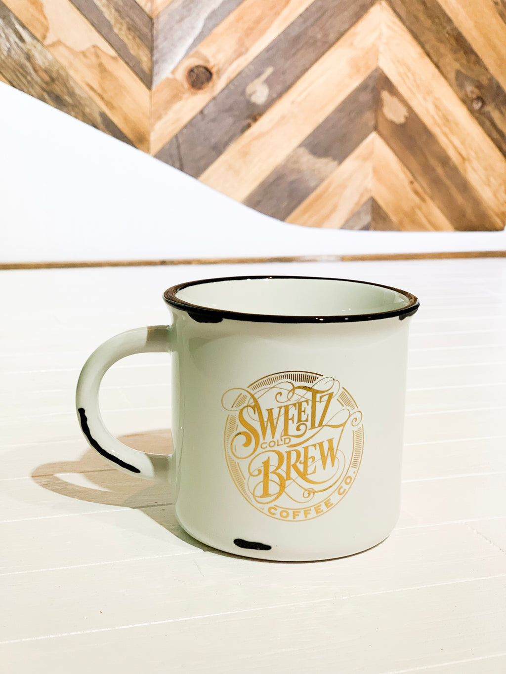 Liquid Gold Camp mug