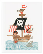 Load image into Gallery viewer, Kid Pirate Art Print
