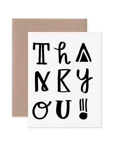 Thank You! Funky Type