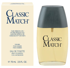 Classic Match, <br> Our Version of Obsession* <br> for men Eau de Toilette Spray