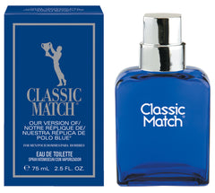Classic Match, Our Version of Polo Blue* Eau de Toilette Spray <br><b>Now $1.80 OFF regular $9.00 price!</b>