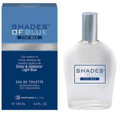 Shades of Blue For Men, Our Version of Dolce & Gabbana Light Blue* pour homme Eau de Toilette Spray