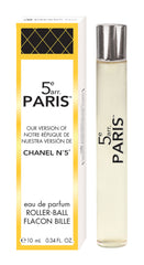 5e arr. Paris, Our Version of Chanel Nº 5*, Roller-Ball Eau de Parfum <br><b>(ONLY AVAILABLE IN U.S.A.)</b>