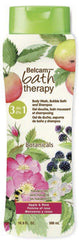 Belcam Bath Therapy Botanicals  3-in-1 Body Wash, Bubble Bath & Shampoo Apple & Rose  /e 500 mL /16.9 fl. oz.