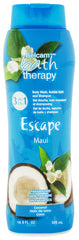 Belcam Bath Therapy Escape Body Wash & Shampoo Maui Coconut<br>16.9 fl. oz. / 500 mL