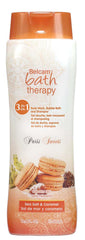 Belcam Bath Therapy Paris Sweets 3-in-1 Body Wash, Bubble Bath and Shampoo Sea Salt & Caramel / e 500 mL / 16.9 fl. oz.