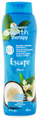 Belcam Bath Therapy Escape 3-in-1 Body Wash, Bubble Bath and Shampoo Body Wash & Shampoo Maui Coconut /e 950 mL / 32 fl. oz.