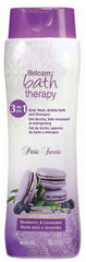 Belcam Bath Therapy Paris Sweets 3-in-1 Body Wash, Bubble Bath and Shampoo Blueberry & Lavender / e 950 mL / 32 fl. oz.