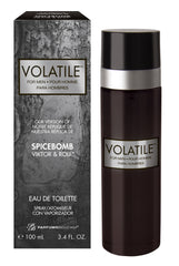 Volatile for Men,  Our Version of Viktor & Rolf Spicebomb*, Eau de Toilette Spray