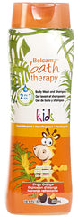 Belcam Bath Therapy Body Wash & Shampoo for Kids <br> Zingy Orange 500 mL / 16.9 fl. oz.