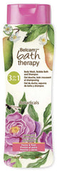 Belcam Bath Therapy Botanicals  3-in-1 Body Wash, Bubble Bath & Shampoo Peony & Pear  /e 950 mL /32.0 fl. oz.