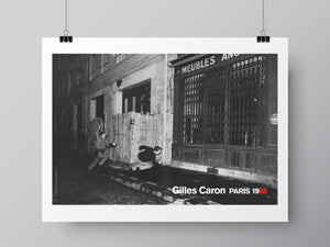Gilles Caron Poster, May 68