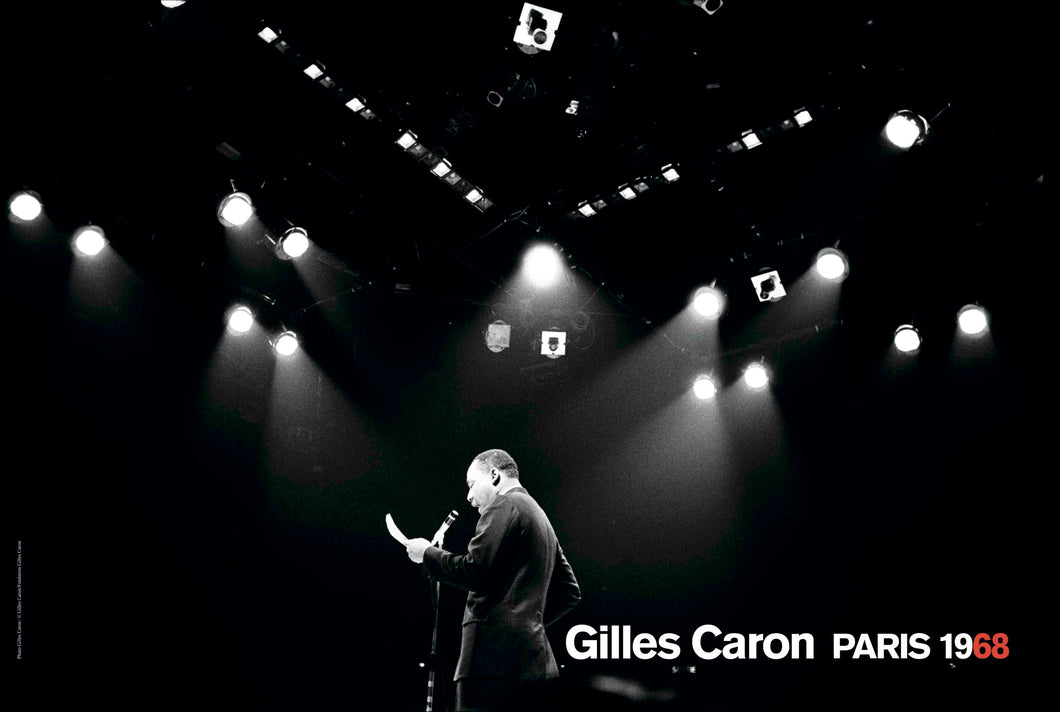 Gilles Caron Poster, Martin Luther King