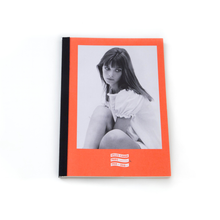Gilles Caron medium notebook, Jane Birkin