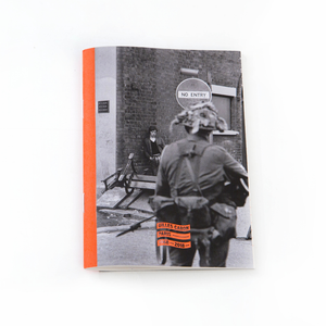 Gilles Caron small notebook, Eire