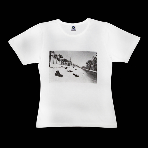 Premium organic white T-shirt, 6 Days war
