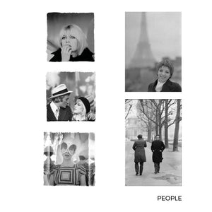 Gilles Caron People Large Postcards 5