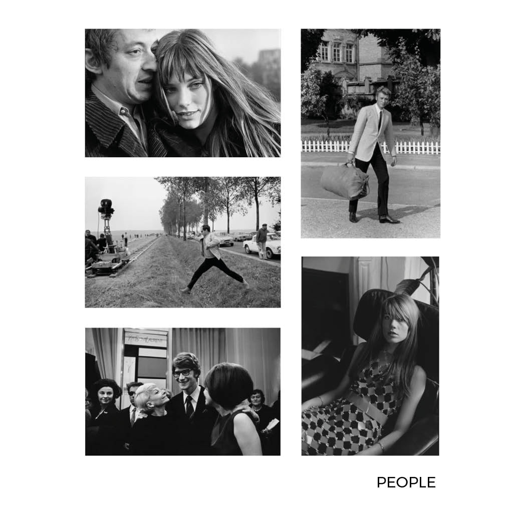 Gilles Caron People Small Postcards 1