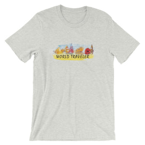 Short-Sleeve Unisex T-Shirt - World Traveler-5