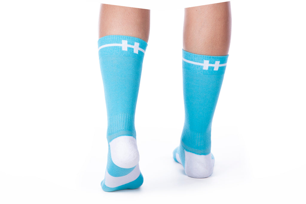 hoof socks blue our sock