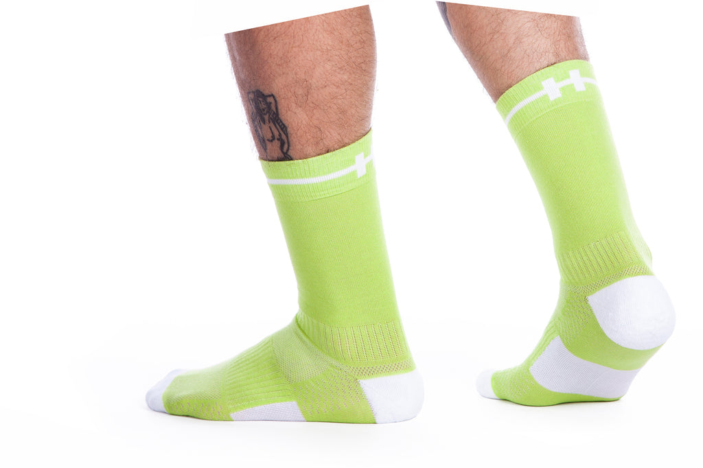 Hoof Socks Green Our Sock
