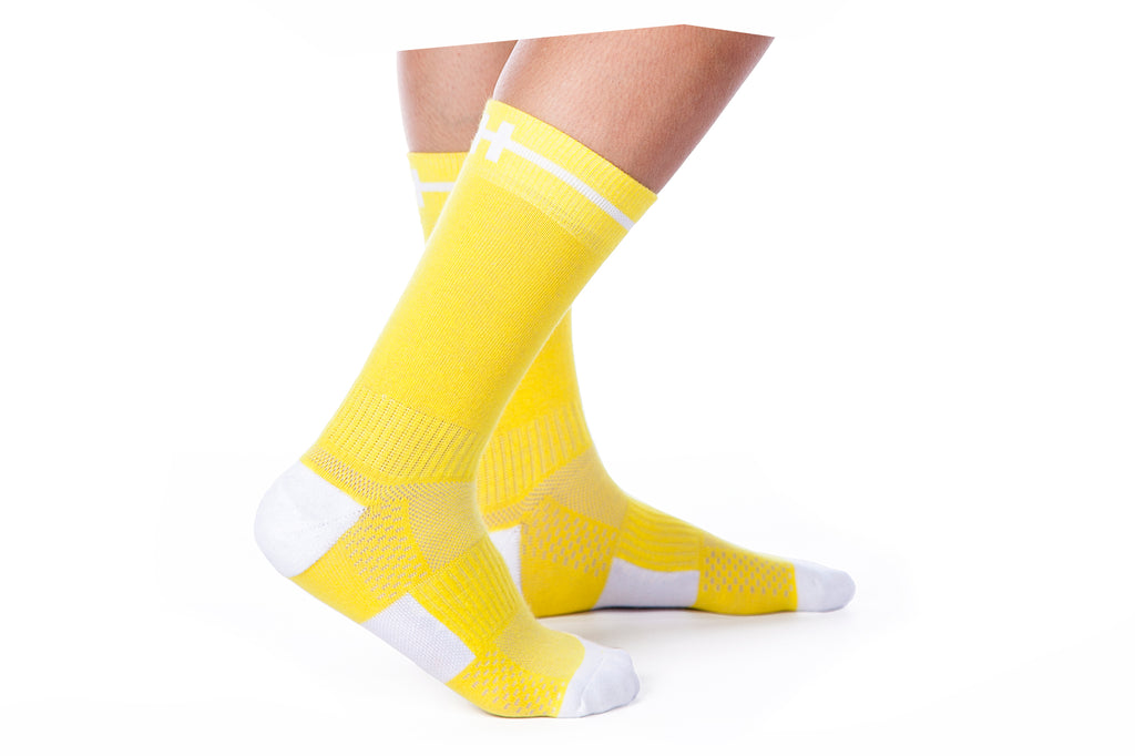 Hoof Socks Yellow Our Sock