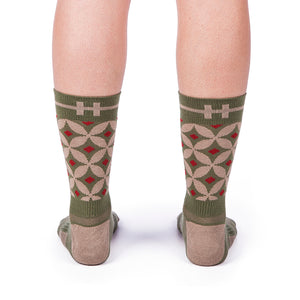 HOOF Socks are comfortable socks that keep your feet dry. Ethically produced and genderless.