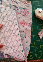 Paper Piece pencil case sewing tutorial