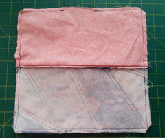 paper piece pencil case sewing tutorial learn paper piecing