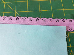 sew lace zipper pouch sewing tutorial
