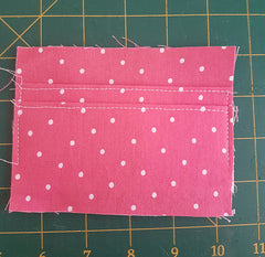 Card pocket sewing tutorial