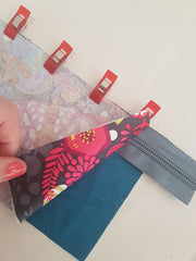 Quick sew pouch sewing tutorial