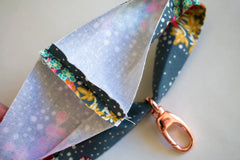 Wristlet Strap Tutorial sewing  for pouches and bags
