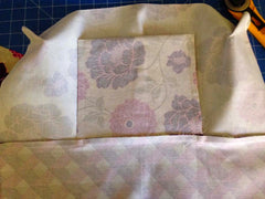 BG Bag sewing secret pocket sewing tutorial